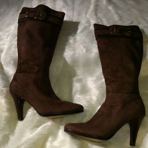 Cole Haan Nike Air Collab Suede Boots SZ 10 B